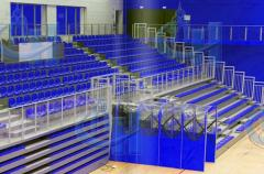 Construction of sporting venues, construction of