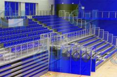 De bouw van sportfaciliteiten