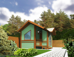 Construction of a turnkey country house, price,