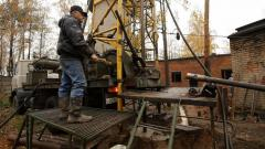 Drilling grouting skvazhin|tamponazh