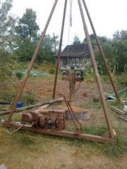 The mechanism a sbrosa|bureniye of wells of