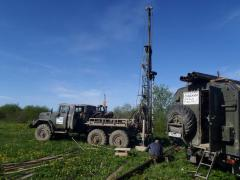 Methods of drilling engineering-geological