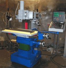 Capital repairs of the milling machine model