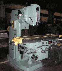 Capital repairs of the milling machine model 6P13