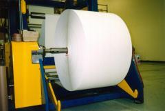 Cutting of paper, cardboard, film