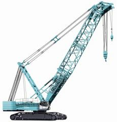 Services of the caterpillar crane 400 of