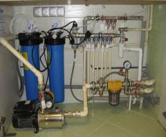 Mounting of plumbing and sanitary in Ukraine at
