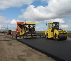 Construction of highways in Ukraine at the