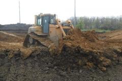 Rent of the bulldozer CATERPILLAR D6R LGP