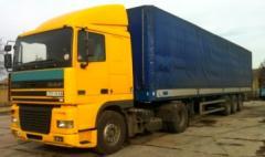 Перевозка зерна 40т по Украине