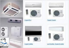 Installation of the conditioner of Brovara,