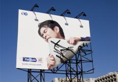 Расклейка афиш, наружная реклама