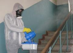 Disinfection of rooms