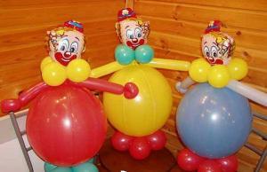 Registration by spheres children's birthday,