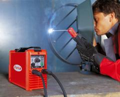 Services from Fronius. Rent of the welding