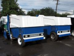Lease of ledozalivochny Zamboni cars