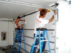 Repair of gate rolletny, Repair of protections,