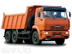Transportations by dump trucks
