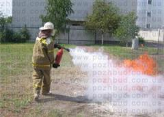Training: fire and technical minimum