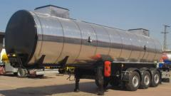 Transportation of dark oil products