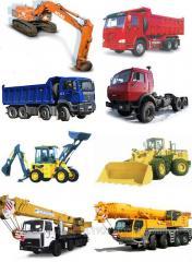 Services of motor transpor