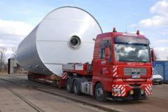 Transport de marchandises surdimensionnées et de