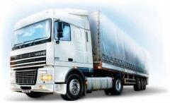 Вантажні перевезення по Києву і Київській області