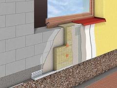 Утепление фасадов минеральной ватой