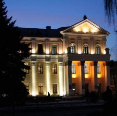 Архитектурная подсветка административных зданий