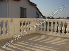 Development of design of balustrades Koncha-Zaspa
