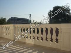 Development of design of balustrades Kiev
