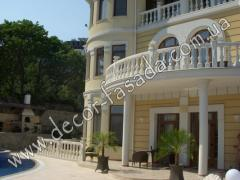 Development of design of balustrades Yalta