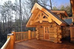 Строим дома из сруба и оцилиндрованного бревна в