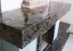 Услуги по установке фонтанов, установка изделия из натурального камня