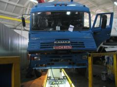 Services of service station for trucks KamAZ