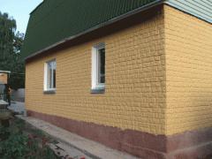 Отделочные работы фасадные