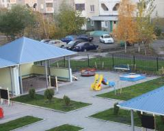Services in construction of school and preschool