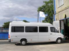 Installation of autoconditioners on minibuses