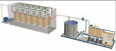Монтаж технологического водоочистного оборудования для гальванических стоков