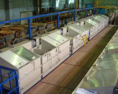 Модернизация оборудования очистных сооружений гальванических стоков