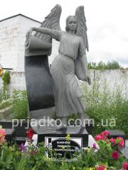 Restoration of the sculptures, statues,