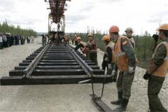 Repair of a railway link