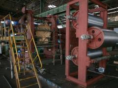 Изготовление каландровой линии для производст