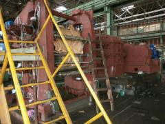 Production of the kalandrovy line for RTI