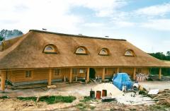 Новая  конструкция Крыши с камыша