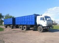 Rent KAMAZ 53215 with the trailer