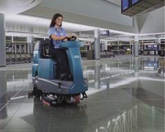 Cleaning of stations, airports