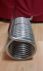 Production of heat exchangers tubular, spiral, was