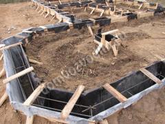 фундамент своими руками для дома из сруба