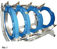 Стыковая сварка  труб ПЕ,терморезисторная сварка